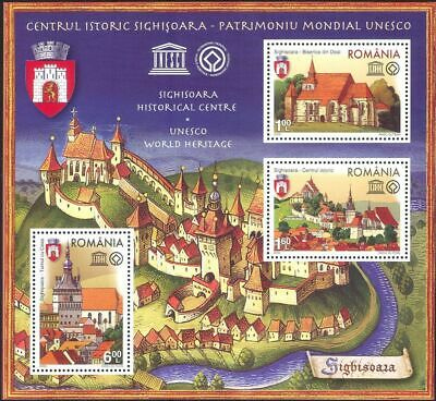 Romania 2009 UNESCO Heritage Town History Building Architecture Coat of Arms MNH