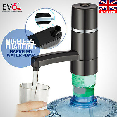 Electric Water Drinking Portable Button Pump Dispenser Gallon Bottle  Switch 5W