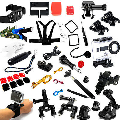Head Roll Tripod Chest Cage Mount GoPro Accessories For HD Hero 3+3 2 1