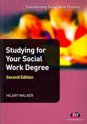 Studying for Your Social Work Degree by Hilary Walker Paperback Book (English)