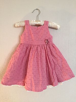 Baby Girl's Pink Summer Party Dress 6-9 Months