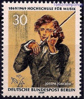 Germany 1969 J Joachim Music Hungarian Violinist Conductor Composer People MNH