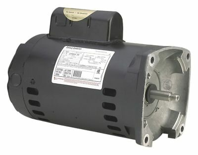 Century 1-1/2 HP Pool and Spa Pump Motor, Permanent Split Capacitor, 3450