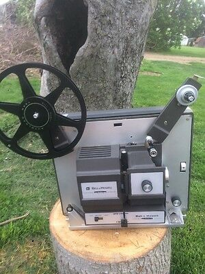 Vintage Bell & Howell Dual 8mm Super 8 Autoload Movie Projector 456A