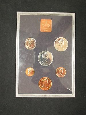 Coinage Of Great Britain And Norther Ireland 1980 Proof Set *free Shipping!
