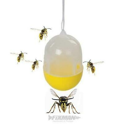 Wasp & Insect Fly Trap Hanging Catcher Garden | Multi Choice Available