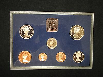 Coinage Of Great Britain And Norther Ireland 1982 Proof Set *free Shipping!