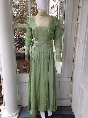Vintage Antique Dress Lovely Silk Color