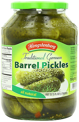 Hengstenberg Pickles, Traditional German, 57.50 Ounce