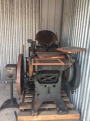 Chandler & Price Craftsman Letterpress with Motor, Vintage Letterpress
