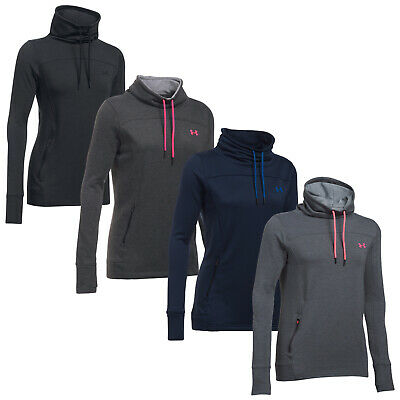 Under Armour Womens Featherweight Fleece Slouchy Top - New Funnel Neck UA 2017