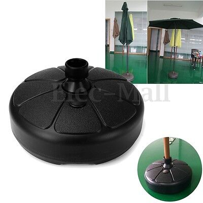 Parasol Furnitur Outdoor  Round Umbrella Base Stand Heavy Duty Umbrella Holder