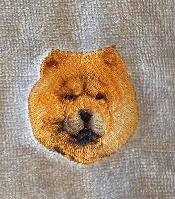 Chow Chow, Hand Towel, Embroidered, Custom, Personalized, Dog