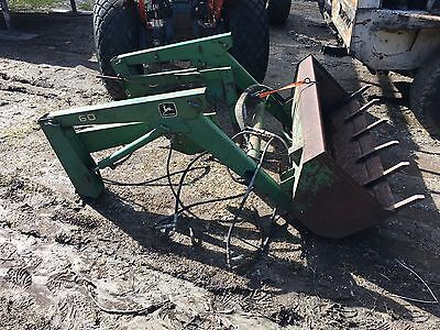 John Deere 60 Loader for 650 655 and 670 Tractor Rare!