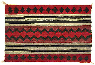 "c. 1910 Navajo Womans Chief's Blanket Variant, 35"" x 52.5"""