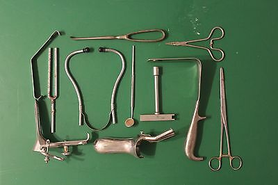 Vintage Misc Lot of Medical and surgical Instruments - Low Starting Price!!!