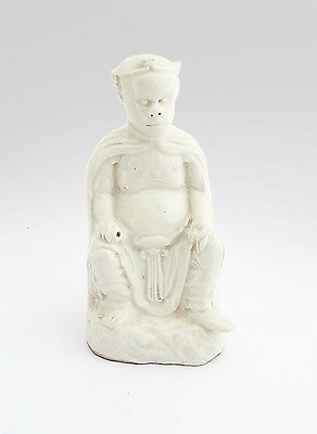 19th C. Antique Chinese Porcelain Qing Dynasty Blanc de Chine Monkey King Figure