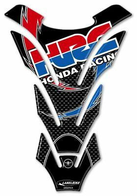 TANK PROTECTION STICKERS 3D HRC CARBON protection tank Motorcycle HONDA RACING