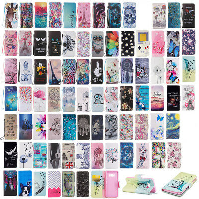 PU Leather Magnetic Flip Case for Samsung Galaxy S8/Plus Phones Wallet Cover