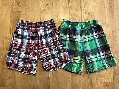 EUC CARTER's 24 Months Toddler Boys Lot of 2 Pairs of Shorts Bottoms