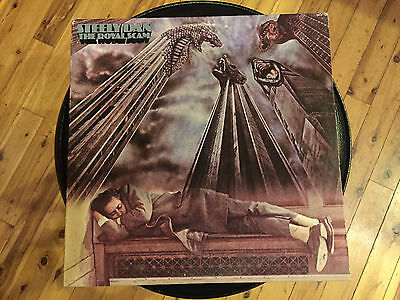 "Steely Dan - The Royal Scam- 12"" vinyl LP record -  w/ orig lyric insert"