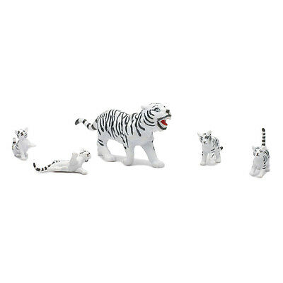 White Tiger and Cubs Playset