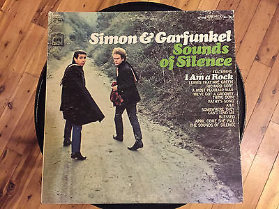 "Simon & Garfunkel -Sounds Of Silence -12"" vinyl LP record"