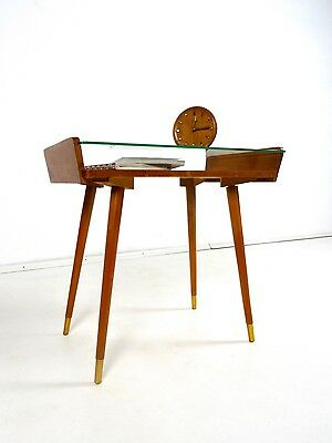 Rare 50Er Vintage Table D'appoint 60Er Danois Moderne Mid Century Petite Table