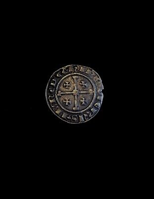 Ancient Silver Crusades Coin King Henry