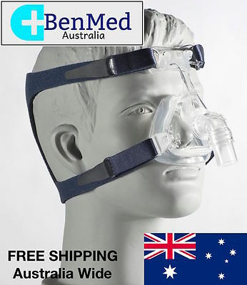*BRAND NEW* DeVilBiss CPAP Nasal Mask and Headgear for Sleep Apnea - Size MEDIUM