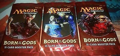 Born of the Gods Booster Pack x 3 MTG