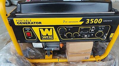 New Wen 3500 Watts Generator 107310-1  (Cr)(Ccc-7)  Local Pick Up Only
