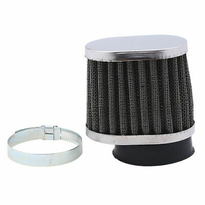 50mm Universal Motorcycle Intake Air Filter POD Cleaner ATV Scooter Dirt Bike