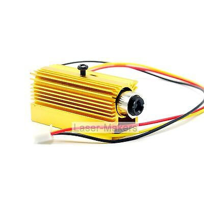 980nm 30mw 5V Infrared IR Focusable Dot Laser Diode Moudle w/ TTL + Heatsink