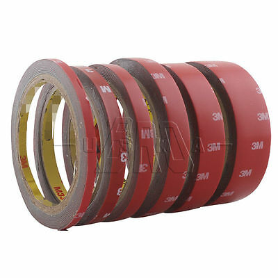 Acrylic Car Double Side Attachment Adhesive Tape 3M Molding 6/8/10/15/20/30mm OP