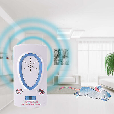 Ultrasonic Electronic Pest Control Repeller Anti Rat Mosquito Mouse Insect Bug