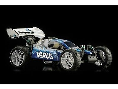 Ansmann - Virus Automodello a scoppio 1:8 Buggy KIT-Version