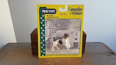 Breyer Jack Russell Terrier Dog No. 1505 Companion Animals; Retired; NIB