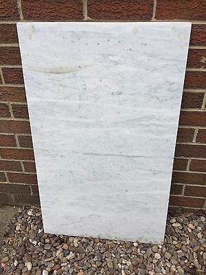 White/grey Marble Washstand Top