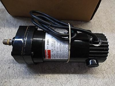 Dayton  2H565A  Dc 1/10  Hp/cv  Gear Motor, New Old Stock