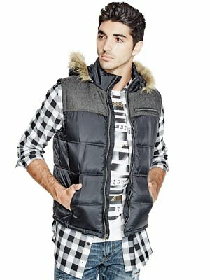 G By Guess Men's Acidus Puffer Vest