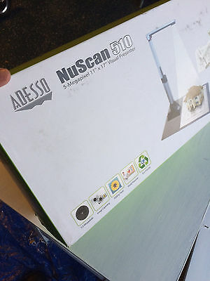 Adesso NuScan 510 5MP Document Camera Scanner Digital Video Visual Presenter