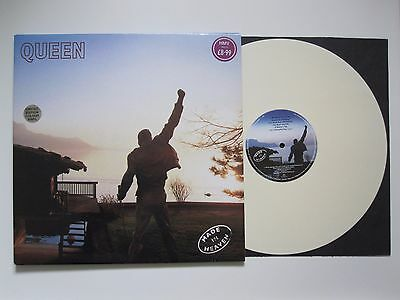 Queen  :  Made In Heaven - Parlophone 1995 Uk Ivory Cream White Vinyl Lp Album