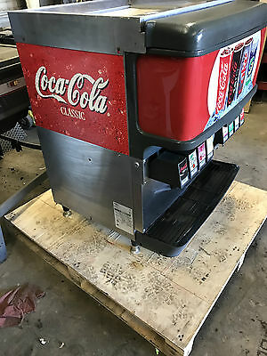 """cornelius Df200-Bc""  Commercial Heavy Duty Lighted 8 Heads Soda"