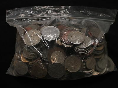 Five Pounds Of Foreign Coins From Around The World! **free Shipping