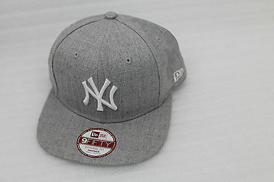 NEW ERA Snapback Cap 9 fify League Basic 9 New York Yankees grau Small-Medium