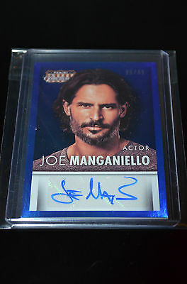 2015 Americana Signatures Blue Joe Manganiello 8/49 True Blood