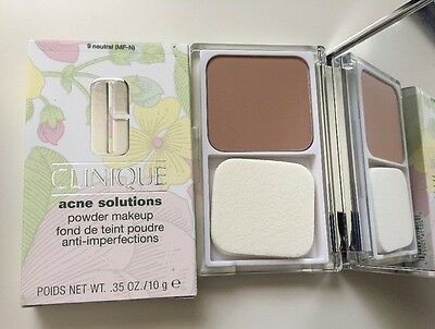 CLINIQUE Acne Solutions Powder Makeup Foundation Compact 9-neutral NEW