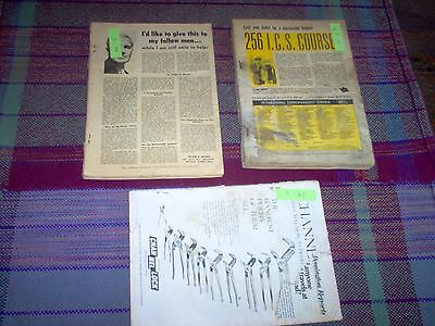 Mechanix Illustrated, lot of 3:  Feb, 1957, November 1970 and March 1971