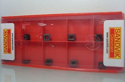 10 Pieces Sandvik 880-0202w04h-p-gm 4024 INDEXABLE INSERTS